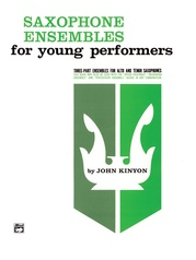 Saxophone Ensembles for Young Performers