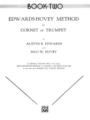 Edwards-Hovey Method for Cornet or Trumpet, Book II
