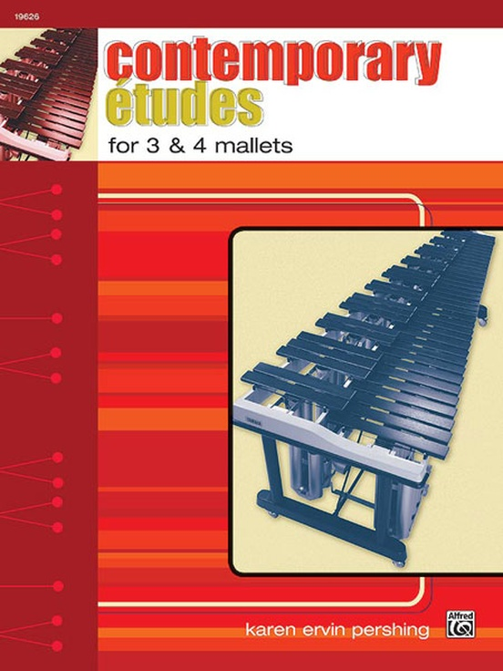 Contemporary Etudes for 3 & 4 Mallets