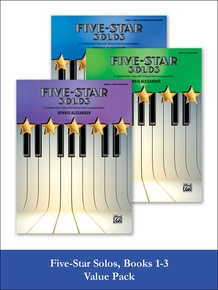Five-Star Solos 1-3 (Value Pack)