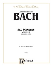 Six Sonatas, Volume II (BWV 1033-1035)
