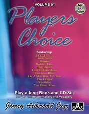 Jamey Aebersold Jazz, Volume 91: Players Choice