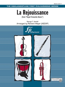 La Rejouissance (from <i>Royal Fireworks Music</i>)
