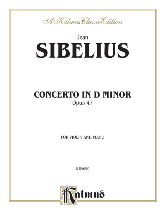 Concerto in D Minor, Opus 47