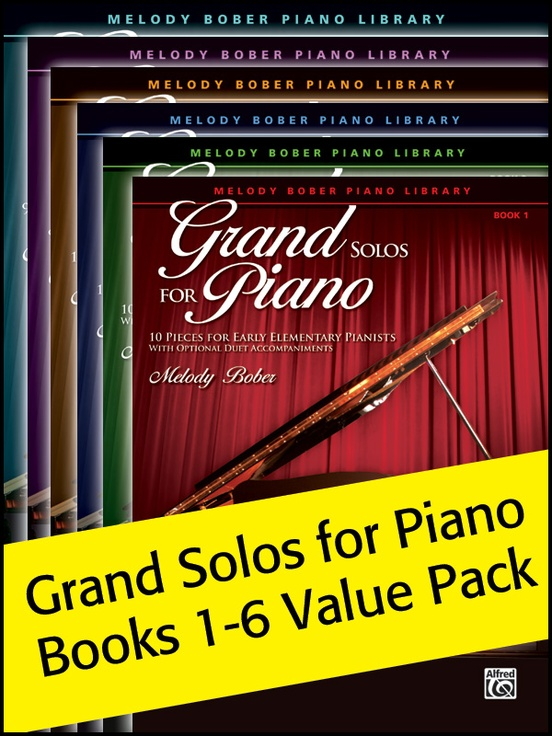 Grand Solos for Piano 1-6 (Value Pack)