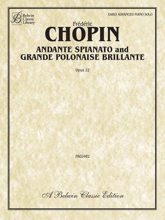 Andante Spianato and Grande Polonaise Brillante, Opus 22