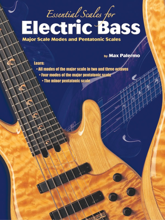 essential scales for electric bass bass guitar book. Black Bedroom Furniture Sets. Home Design Ideas