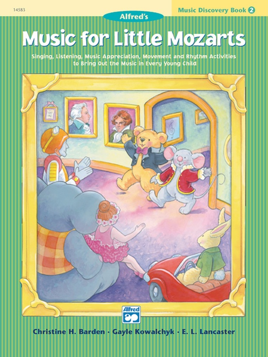 Music for Little Mozarts: Music Discovery Book 2