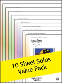 New Sheet Solos 2011 (Value Pack)