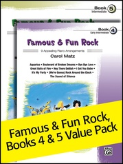Famous & Fun Rock 4-5 (Value Pack)