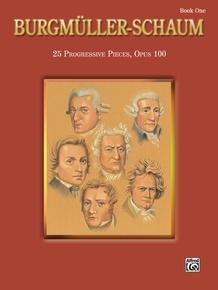 Burgmüller-Schaum, Book One