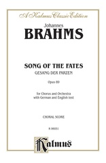 Song of the Fates (Gesang der Parzen), Opus 89
