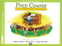 Alfred's Basic Piano Prep Course: Solo Book C