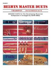 Belwin Master Duets (Trumpet), Intermediate Volume 2