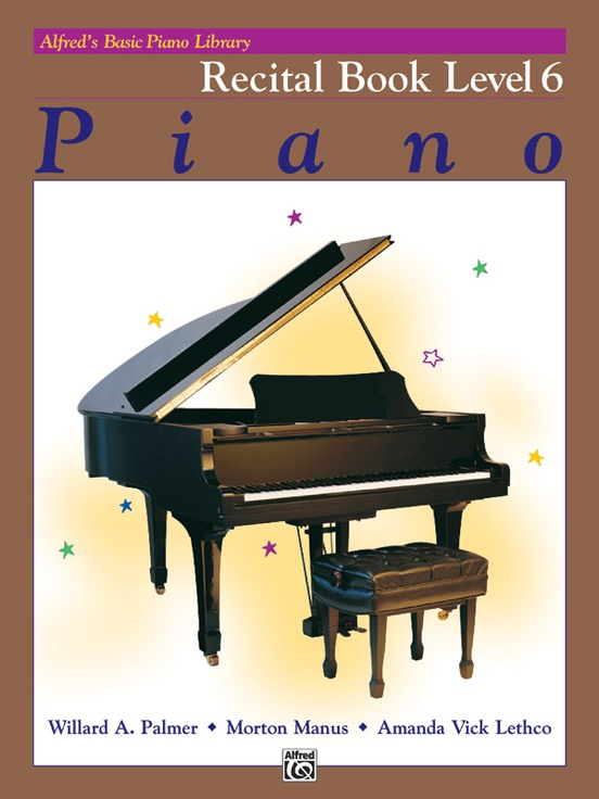 Alfred's Basic Piano Library: Recital Book 6