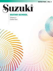 Suzuki Guitar School Guitar Part, Volume 6