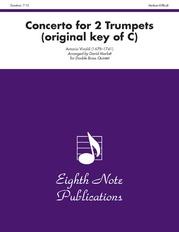 Concerto for 2 Trumpets (original key of C)