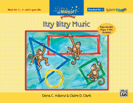 This Is Music! Preschool Volume 1: Itsy Bitsy Music
