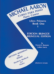 Michael Aaron Piano Course: Spanish & English Edition (Curso Para Piano), Book 1
