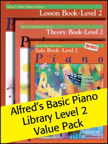 Alfred's Basic Piano Library 2 2012 (Value Pack)
