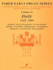 Faber Early Organ Series, Volume 16
