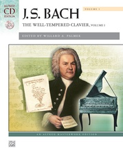 J. S. Bach, The Well-Tempered Clavier, Volume I