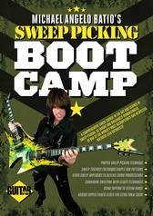 Guitar World: Michael Angelo Batio's Sweep Picking Boot Camp