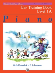 Alfred's Basic Piano Library: Universal Edition Ear Training Book 1A