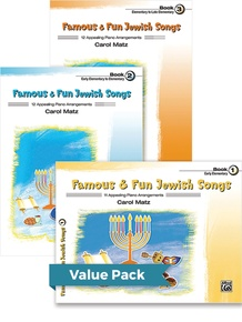 Famous & Fun Jewish Songs 1-3 (Value Pack)