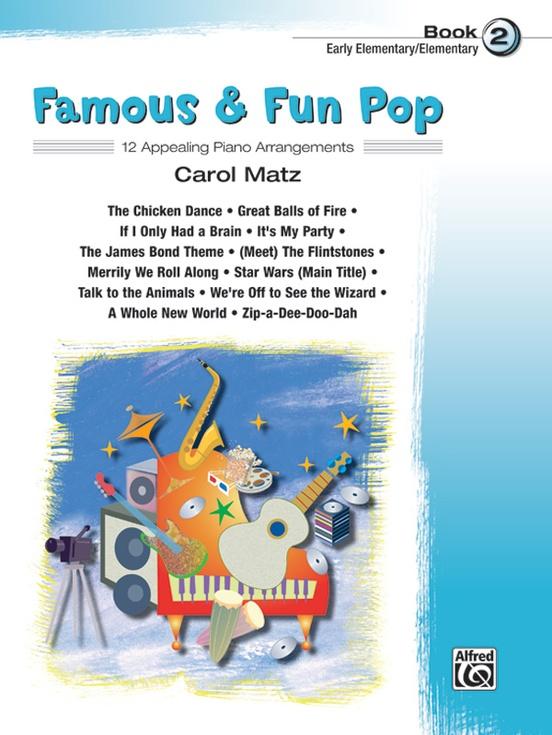 Famous & Fun Pop, Book 2