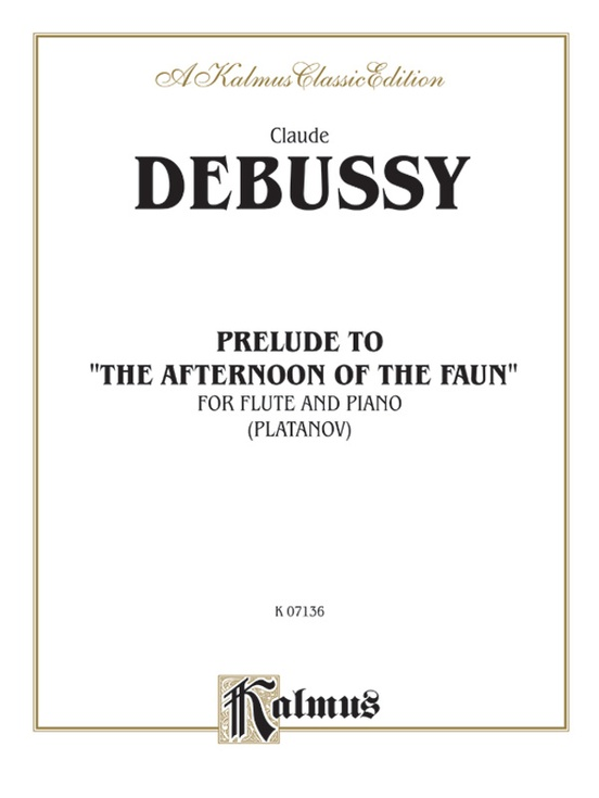 "Prelude to ""Afternoon of a Faun"""