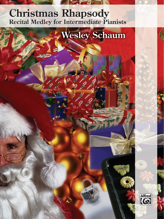 Christmas Rhapsody: Recital Medley for Intermediate Pianists