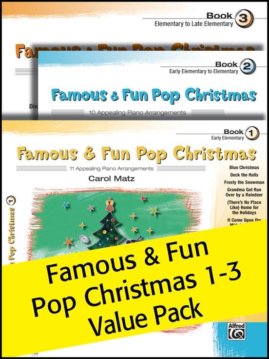 Famous & Fun Pop Christmas 1-3 (Value Pack)