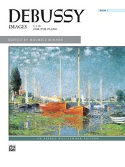 Debussy: Images, Book 1