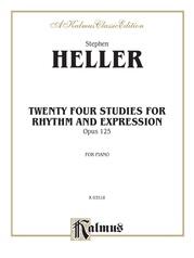Twenty-Four Piano Studies for Rhythm and Expression, Opus 125