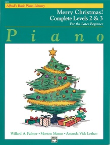 Alfred's Basic Piano Library: Merry Christmas! Complete Book 2 & 3