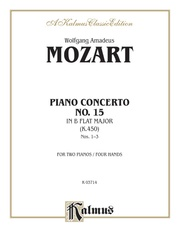 Piano Concerto No. 15 in B-flat, K. 450