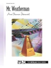 Mr. Weatherman