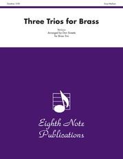 Three Trios for Brass