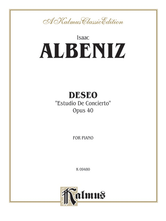 Deseo (Estudio de Concierto)