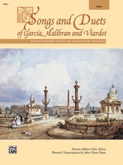 Songs and Duets of Garcia, Malibran, and Viardot