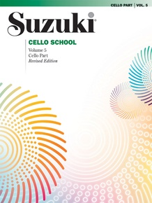Suzuki Cello School Cello Part, Volume 5 (Revised)