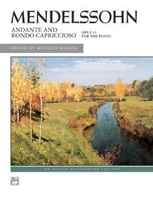 Mendelssohn: Andante and Rondo Capriccioso, Opus 14