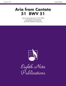 Aria (from <I>Cantata 51</I>, BWV 51)