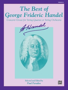 The Best of George Frideric Handel