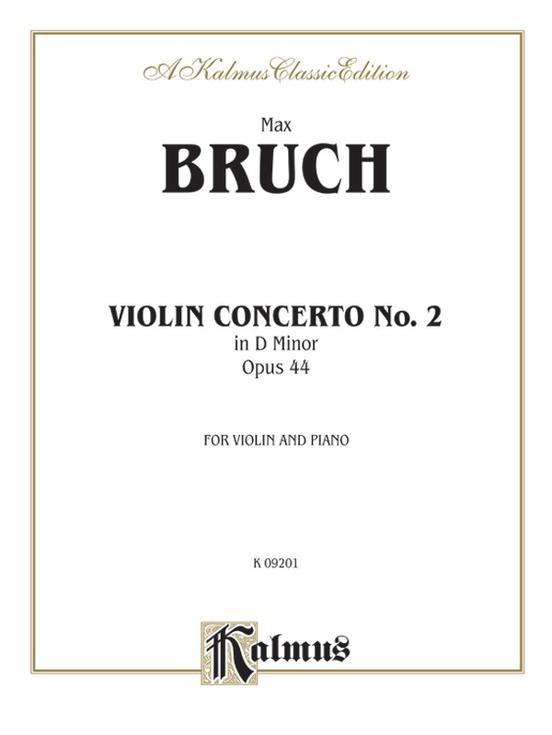 Violin Concerto in D Minor, Opus 44