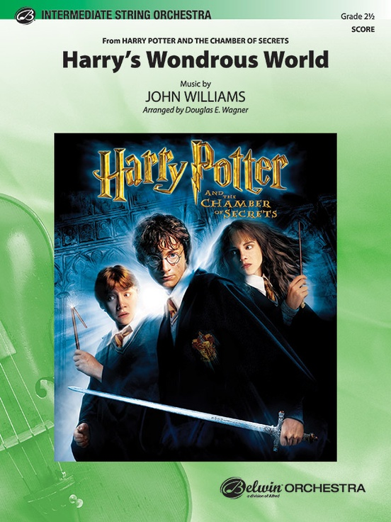 Harry's Wondrous World (from Harry Potter and the Chamber of Secrets)
