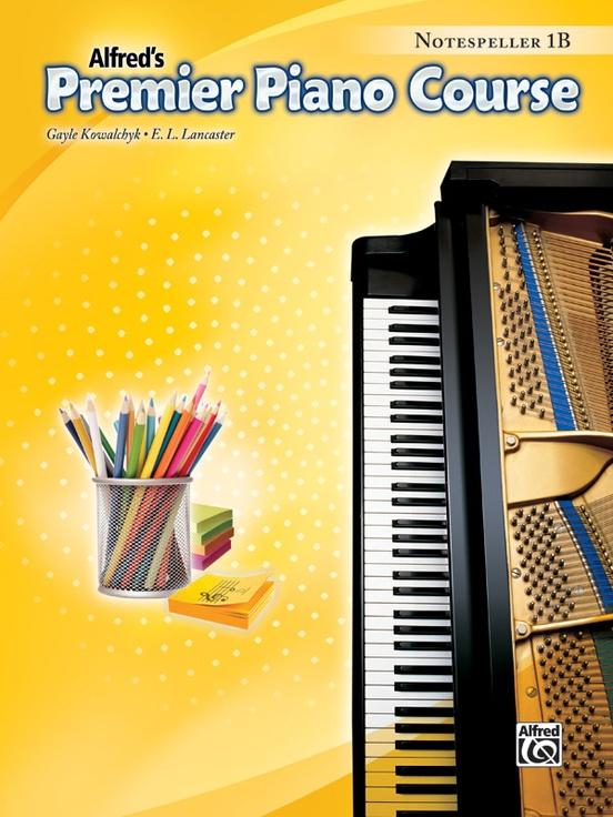 Premier Piano Course, Notespeller 1B