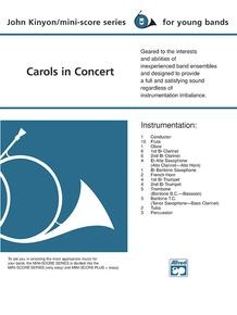 Carols in Concert