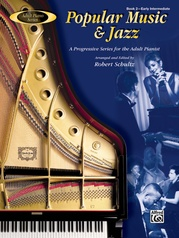 Adult Piano Series: Popular Music & Jazz, Book 2
